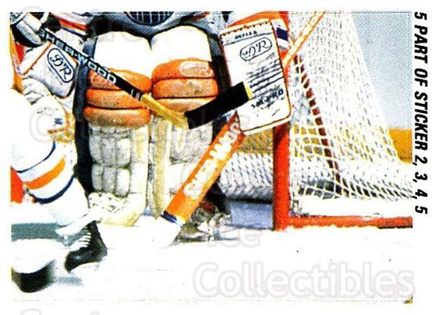 1988-89 O-pee-chee Stickers #005-0 Grant Fuhr, Steve Smith, Boston Bruins<br/>5 In Stock - $2.00 each - <a href=https://centericecollectibles.foxycart.com/cart?name=1988-89%20O-pee-chee%20Stickers%20%23005-0%20Grant%20Fuhr,%20Ste...&quantity_max=5&price=$2.00&code=248507 class=foxycart> Buy it now! </a>