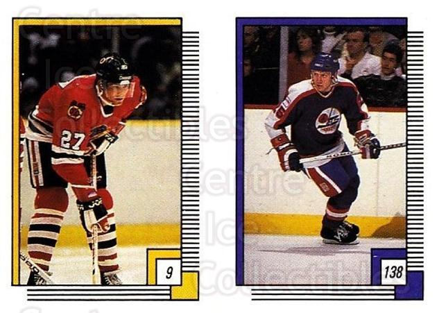 1988-89 O-pee-chee Stickers #009-138 Rick Vaive, Thomas Steen<br/>10 In Stock - $2.00 each - <a href=https://centericecollectibles.foxycart.com/cart?name=1988-89%20O-pee-chee%20Stickers%20%23009-138%20Rick%20Vaive,%20Tho...&quantity_max=10&price=$2.00&code=248511 class=foxycart> Buy it now! </a>