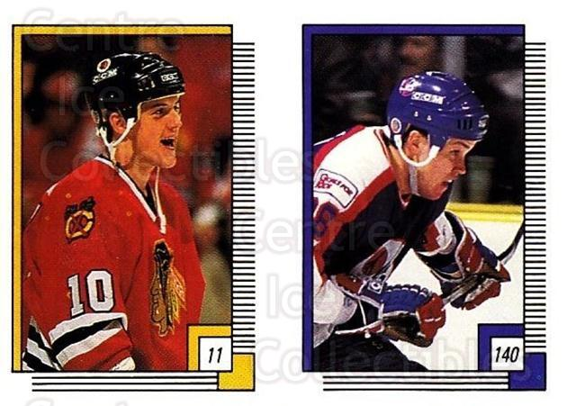 1988-89 O-pee-chee Stickers #011-140 Brian Noonan, Iain Duncan, Kirk McLean<br/>5 In Stock - $2.00 each - <a href=https://centericecollectibles.foxycart.com/cart?name=1988-89%20O-pee-chee%20Stickers%20%23011-140%20Brian%20Noonan,%20I...&quantity_max=5&price=$2.00&code=248513 class=foxycart> Buy it now! </a>