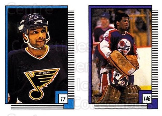 1988-89 O-pee-chee Stickers #017-146 Tony McKegney, Eldon Reddick<br/>8 In Stock - $2.00 each - <a href=https://centericecollectibles.foxycart.com/cart?name=1988-89%20O-pee-chee%20Stickers%20%23017-146%20Tony%20McKegney,%20...&quantity_max=8&price=$2.00&code=248519 class=foxycart> Buy it now! </a>