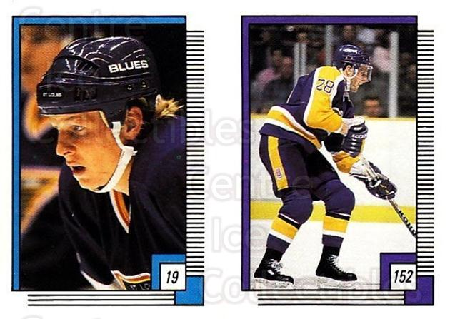 1988-89 O-pee-chee Stickers #019-152 Tony Hrkac, Steve Duchesne<br/>11 In Stock - $2.00 each - <a href=https://centericecollectibles.foxycart.com/cart?name=1988-89%20O-pee-chee%20Stickers%20%23019-152%20Tony%20Hrkac,%20Ste...&quantity_max=11&price=$2.00&code=248521 class=foxycart> Buy it now! </a>