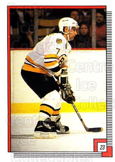 1988-89 O-pee-chee Stickers #023-0 Ray Bourque, Doug Brown<br/>4 In Stock - $2.00 each - <a href=https://centericecollectibles.foxycart.com/cart?name=1988-89%20O-pee-chee%20Stickers%20%23023-0%20Ray%20Bourque,%20Do...&quantity_max=4&price=$2.00&code=248525 class=foxycart> Buy it now! </a>