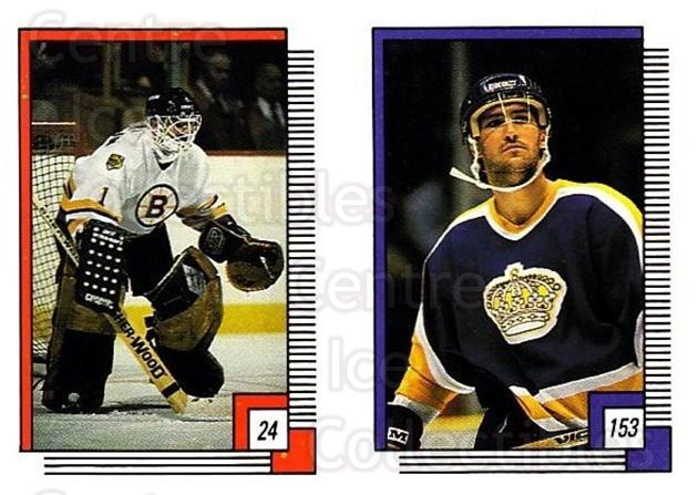 1988-89 O-pee-chee Stickers #024-153 Rejean Lemelin, Bob Carpenter<br/>10 In Stock - $1.00 each - <a href=https://centericecollectibles.foxycart.com/cart?name=1988-89%20O-pee-chee%20Stickers%20%23024-153%20Rejean%20Lemelin,...&price=$1.00&code=248526 class=foxycart> Buy it now! </a>