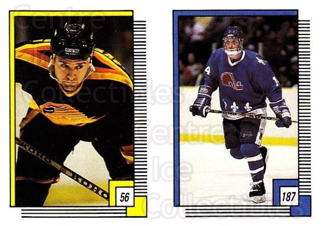 1988-89 O-pee-chee Stickers #056-187 Doug Wickenheiser, Gaetan Duchesne<br/>10 In Stock - $2.00 each - <a href=https://centericecollectibles.foxycart.com/cart?name=1988-89%20O-pee-chee%20Stickers%20%23056-187%20Doug%20Wickenheis...&quantity_max=10&price=$2.00&code=248558 class=foxycart> Buy it now! </a>