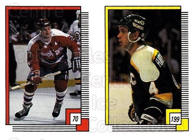 1988-89 O-pee-chee Stickers #070-199 Dave Christian, Craig Hartsburg<br/>10 In Stock - $2.00 each - <a href=https://centericecollectibles.foxycart.com/cart?name=1988-89%20O-pee-chee%20Stickers%20%23070-199%20Dave%20Christian,...&quantity_max=10&price=$2.00&code=248572 class=foxycart> Buy it now! </a>