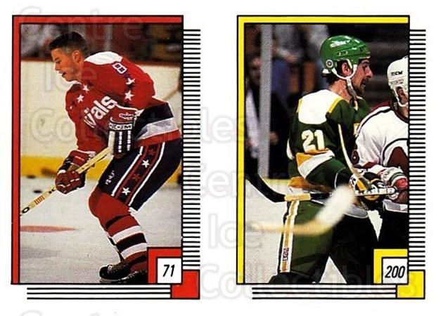 1988-89 O-pee-chee Stickers #071-200 Larry Murphy, Moe Mantha<br/>10 In Stock - $2.00 each - <a href=https://centericecollectibles.foxycart.com/cart?name=1988-89%20O-pee-chee%20Stickers%20%23071-200%20Larry%20Murphy,%20M...&quantity_max=10&price=$2.00&code=248573 class=foxycart> Buy it now! </a>
