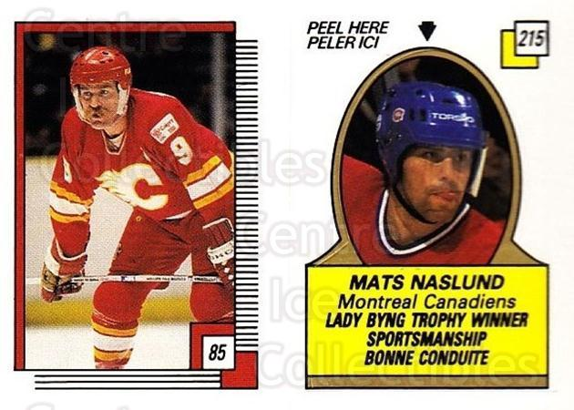 1988-89 O-pee-chee Stickers #085-215 Lanny McDonald, Mats Naslund, Glen Wesley<br/>4 In Stock - $2.00 each - <a href=https://centericecollectibles.foxycart.com/cart?name=1988-89%20O-pee-chee%20Stickers%20%23085-215%20Lanny%20McDonald,...&quantity_max=4&price=$2.00&code=248587 class=foxycart> Buy it now! </a>