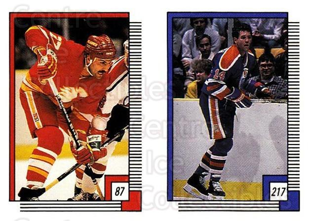 1988-89 O-pee-chee Stickers #087-217 John Tonelli, Craig MacTavish<br/>11 In Stock - $2.00 each - <a href=https://centericecollectibles.foxycart.com/cart?name=1988-89%20O-pee-chee%20Stickers%20%23087-217%20John%20Tonelli,%20C...&quantity_max=11&price=$2.00&code=248588 class=foxycart> Buy it now! </a>