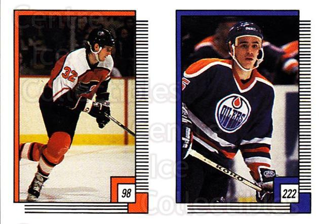 1988-89 O-pee-chee Stickers #098-222 Murray Craven, Geoff Courtnall<br/>7 In Stock - $2.00 each - <a href=https://centericecollectibles.foxycart.com/cart?name=1988-89%20O-pee-chee%20Stickers%20%23098-222%20Murray%20Craven,%20...&quantity_max=7&price=$2.00&code=248599 class=foxycart> Buy it now! </a>