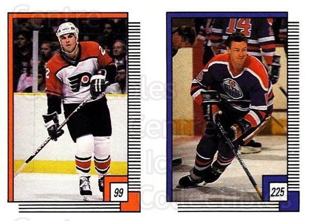 1988-89 O-pee-chee Stickers #099-225 Rick Tocchet, Steve Smith<br/>9 In Stock - $2.00 each - <a href=https://centericecollectibles.foxycart.com/cart?name=1988-89%20O-pee-chee%20Stickers%20%23099-225%20Rick%20Tocchet,%20S...&quantity_max=9&price=$2.00&code=248600 class=foxycart> Buy it now! </a>