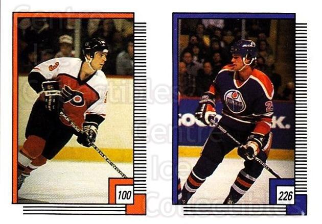 1988-89 O-pee-chee Stickers #100-226 Doug Crossman, Mike Krushelnyski<br/>9 In Stock - $2.00 each - <a href=https://centericecollectibles.foxycart.com/cart?name=1988-89%20O-pee-chee%20Stickers%20%23100-226%20Doug%20Crossman,%20...&quantity_max=9&price=$2.00&code=248601 class=foxycart> Buy it now! </a>