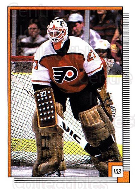 1988-89 O-pee-chee Stickers #103-0 Ron Hextall<br/>4 In Stock - $2.00 each - <a href=https://centericecollectibles.foxycart.com/cart?name=1988-89%20O-pee-chee%20Stickers%20%23103-0%20Ron%20Hextall...&quantity_max=4&price=$2.00&code=248605 class=foxycart> Buy it now! </a>