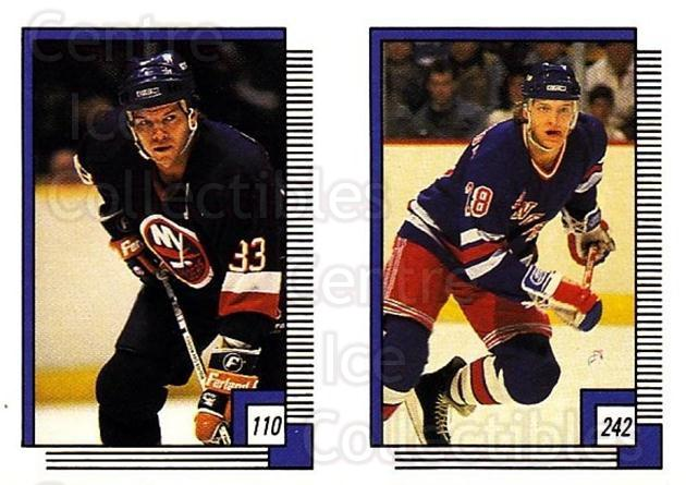1988-89 O-pee-chee Stickers #110-242 Steve Konroyd, Tomas Sandstrom<br/>8 In Stock - $2.00 each - <a href=https://centericecollectibles.foxycart.com/cart?name=1988-89%20O-pee-chee%20Stickers%20%23110-242%20Steve%20Konroyd,%20...&quantity_max=8&price=$2.00&code=248612 class=foxycart> Buy it now! </a>