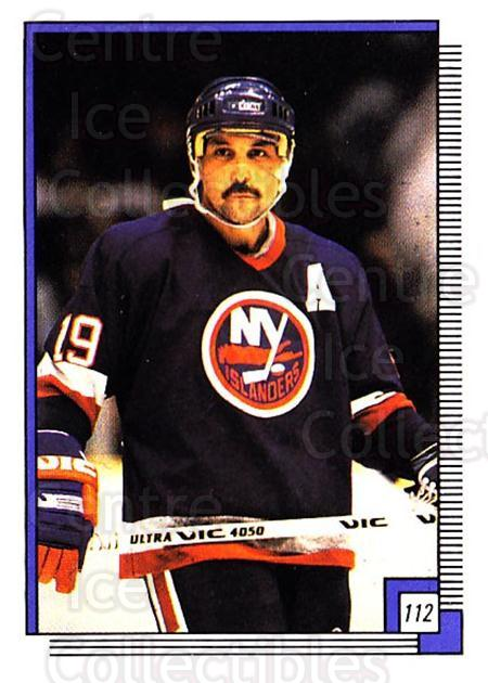 1988-89 O-pee-chee Stickers #112-0 Bryan Trottier<br/>8 In Stock - $2.00 each - <a href=https://centericecollectibles.foxycart.com/cart?name=1988-89%20O-pee-chee%20Stickers%20%23112-0%20Bryan%20Trottier...&quantity_max=8&price=$2.00&code=248614 class=foxycart> Buy it now! </a>