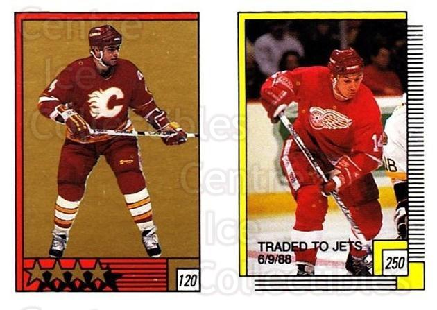 1988-89 O-pee-chee Stickers #120-250 Brad McCrimmon, Brent Ashton<br/>10 In Stock - $2.00 each - <a href=https://centericecollectibles.foxycart.com/cart?name=1988-89%20O-pee-chee%20Stickers%20%23120-250%20Brad%20McCrimmon,...&quantity_max=10&price=$2.00&code=248622 class=foxycart> Buy it now! </a>