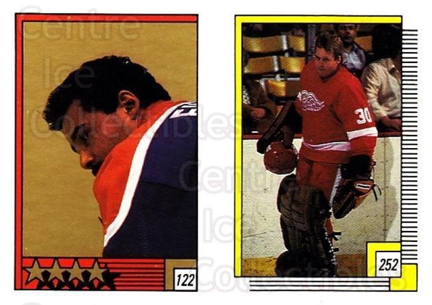1988-89 O-pee-chee Stickers #122-252 Grant Fuhr, Greg Stefan<br/>6 In Stock - $2.00 each - <a href=https://centericecollectibles.foxycart.com/cart?name=1988-89%20O-pee-chee%20Stickers%20%23122-252%20Grant%20Fuhr,%20Gre...&quantity_max=6&price=$2.00&code=248624 class=foxycart> Buy it now! </a>