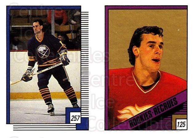 1988-89 O-pee-chee Stickers #125-257 Joe Nieuwendyk, Mike Foligno<br/>10 In Stock - $2.00 each - <a href=https://centericecollectibles.foxycart.com/cart?name=1988-89%20O-pee-chee%20Stickers%20%23125-257%20Joe%20Nieuwendyk,...&quantity_max=10&price=$2.00&code=248627 class=foxycart> Buy it now! </a>