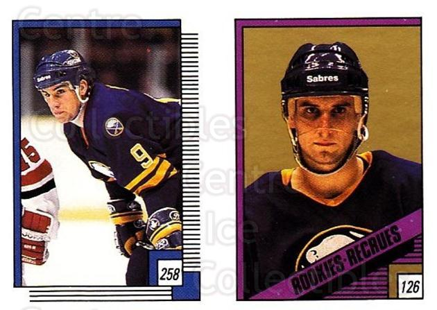 1988-89 O-pee-chee Stickers #126-258 Ray Sheppard, Scott Arniel, Ulf Dahlen<br/>9 In Stock - $1.00 each - <a href=https://centericecollectibles.foxycart.com/cart?name=1988-89%20O-pee-chee%20Stickers%20%23126-258%20Ray%20Sheppard,%20S...&quantity_max=9&price=$1.00&code=248628 class=foxycart> Buy it now! </a>