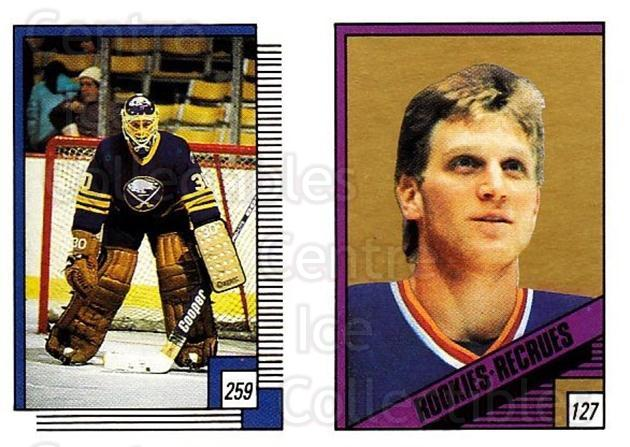 1988-89 O-pee-chee Stickers #127-259 Brett Hull, Tom Barrasso<br/>1 In Stock - $3.00 each - <a href=https://centericecollectibles.foxycart.com/cart?name=1988-89%20O-pee-chee%20Stickers%20%23127-259%20Brett%20Hull,%20Tom...&price=$3.00&code=248629 class=foxycart> Buy it now! </a>