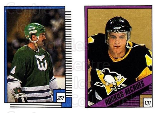 1988-89 O-pee-chee Stickers #131-267 Rob Brown, Dave Babych<br/>11 In Stock - $2.00 each - <a href=https://centericecollectibles.foxycart.com/cart?name=1988-89%20O-pee-chee%20Stickers%20%23131-267%20Rob%20Brown,%20Dave...&quantity_max=11&price=$2.00&code=248633 class=foxycart> Buy it now! </a>