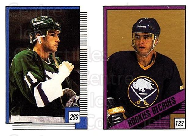1988-89 O-pee-chee Stickers #133-269 Pierre Turgeon, Kevin Dineen<br/>7 In Stock - $2.00 each - <a href=https://centericecollectibles.foxycart.com/cart?name=1988-89%20O-pee-chee%20Stickers%20%23133-269%20Pierre%20Turgeon,...&quantity_max=7&price=$2.00&code=248635 class=foxycart> Buy it now! </a>