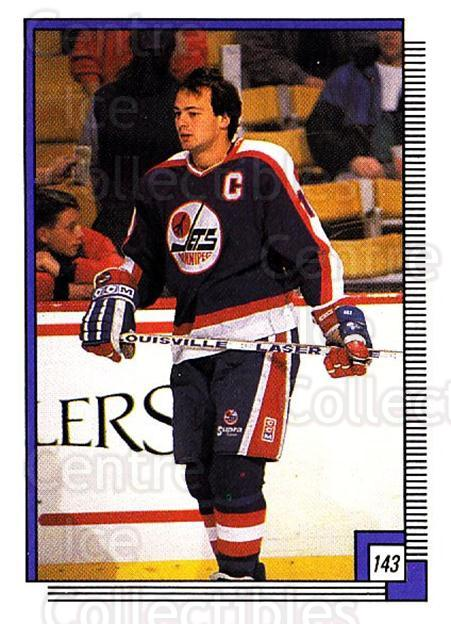 1988-89 O-pee-chee Stickers #143-0 Dale Hawerchuk<br/>8 In Stock - $2.00 each - <a href=https://centericecollectibles.foxycart.com/cart?name=1988-89%20O-pee-chee%20Stickers%20%23143-0%20Dale%20Hawerchuk...&quantity_max=8&price=$2.00&code=248637 class=foxycart> Buy it now! </a>