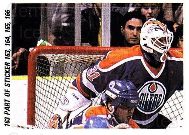 1988-89 O-pee-chee Stickers #163-0 Patrik Sundstrom, Grant Fuhr, Kevin Lowe<br/>7 In Stock - $2.00 each - <a href=https://centericecollectibles.foxycart.com/cart?name=1988-89%20O-pee-chee%20Stickers%20%23163-0%20Patrik%20Sundstro...&quantity_max=7&price=$2.00&code=248649 class=foxycart> Buy it now! </a>