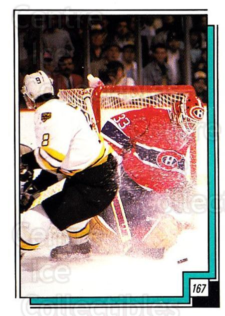 1988-89 O-pee-chee Stickers #167-0 Cam Neely, Patrick Roy<br/>4 In Stock - $3.00 each - <a href=https://centericecollectibles.foxycart.com/cart?name=1988-89%20O-pee-chee%20Stickers%20%23167-0%20Cam%20Neely,%20Patr...&quantity_max=4&price=$3.00&code=248653 class=foxycart> Buy it now! </a>