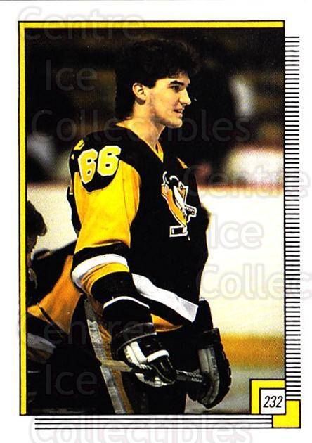 1988-89 O-pee-chee Stickers #232-0 Mario Lemieux<br/>4 In Stock - $3.00 each - <a href=https://centericecollectibles.foxycart.com/cart?name=1988-89%20O-pee-chee%20Stickers%20%23232-0%20Mario%20Lemieux...&quantity_max=4&price=$3.00&code=248676 class=foxycart> Buy it now! </a>