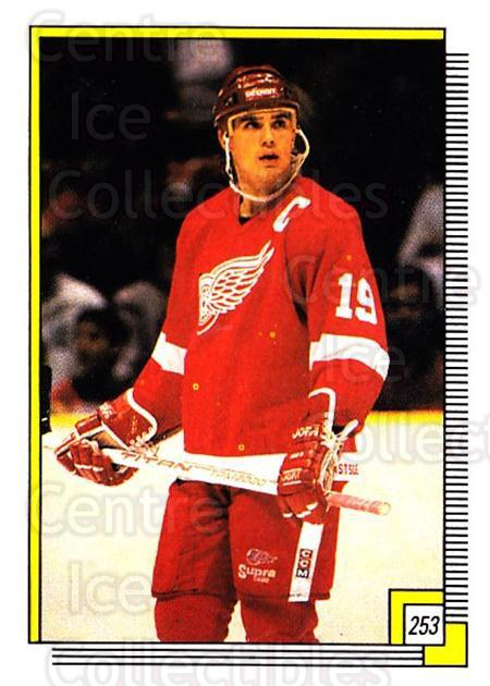 1988-89 O-pee-chee Stickers #253-0 Steve Yzerman<br/>2 In Stock - $3.00 each - <a href=https://centericecollectibles.foxycart.com/cart?name=1988-89%20O-pee-chee%20Stickers%20%23253-0%20Steve%20Yzerman...&quantity_max=2&price=$3.00&code=248679 class=foxycart> Buy it now! </a>