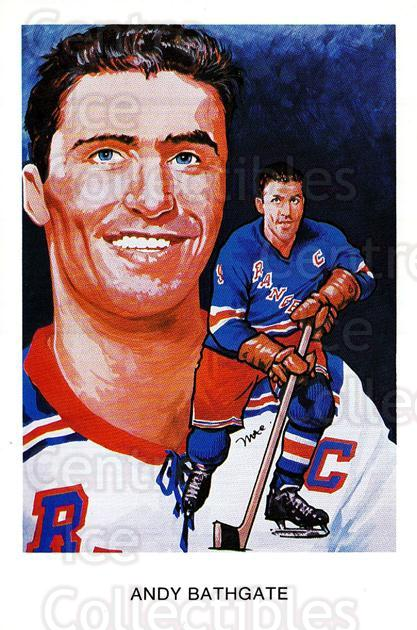 1983 Hall of Fame Postcards #O04 Andy Bathgate<br/>1 In Stock - $5.00 each - <a href=https://centericecollectibles.foxycart.com/cart?name=1983%20Hall%20of%20Fame%20Postcards%20%23O04%20Andy%20Bathgate...&quantity_max=1&price=$5.00&code=248912 class=foxycart> Buy it now! </a>