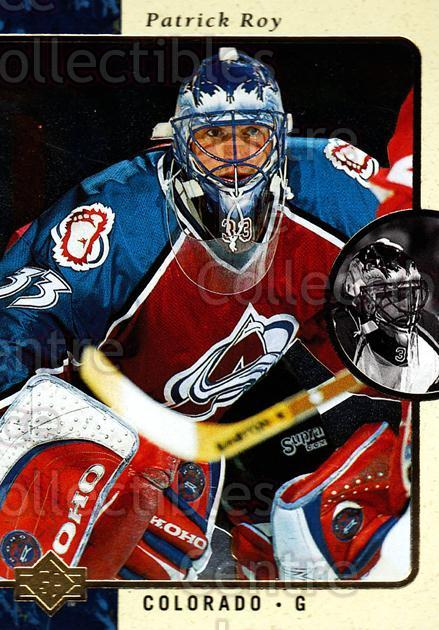 1995-96 SP #30 Patrick Roy<br/>1 In Stock - $3.00 each - <a href=https://centericecollectibles.foxycart.com/cart?name=1995-96%20SP%20%2330%20Patrick%20Roy...&price=$3.00&code=249151 class=foxycart> Buy it now! </a>