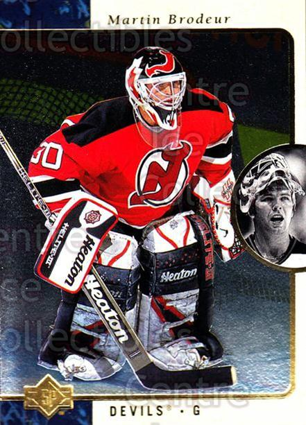 1995-96 SP #79 Martin Brodeur<br/>3 In Stock - $2.00 each - <a href=https://centericecollectibles.foxycart.com/cart?name=1995-96%20SP%20%2379%20Martin%20Brodeur...&price=$2.00&code=249152 class=foxycart> Buy it now! </a>
