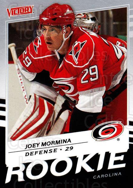 2008-09 UD Victory #224 Joey Mormina<br/>4 In Stock - $2.00 each - <a href=https://centericecollectibles.foxycart.com/cart?name=2008-09%20UD%20Victory%20%23224%20Joey%20Mormina...&quantity_max=4&price=$2.00&code=249168 class=foxycart> Buy it now! </a>