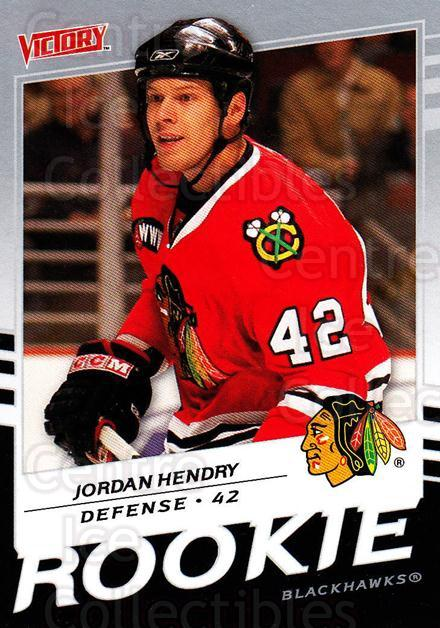 2008-09 UD Victory #227 Jordan Hendry<br/>3 In Stock - $2.00 each - <a href=https://centericecollectibles.foxycart.com/cart?name=2008-09%20UD%20Victory%20%23227%20Jordan%20Hendry...&quantity_max=3&price=$2.00&code=249169 class=foxycart> Buy it now! </a>