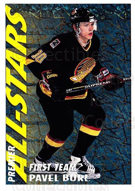1994-95 OPC Premier Special FX #39 Pavel Bure<br/>2 In Stock - $5.00 each - <a href=https://centericecollectibles.foxycart.com/cart?name=1994-95%20OPC%20Premier%20Special%20FX%20%2339%20Pavel%20Bure...&quantity_max=2&price=$5.00&code=249217 class=foxycart> Buy it now! </a>