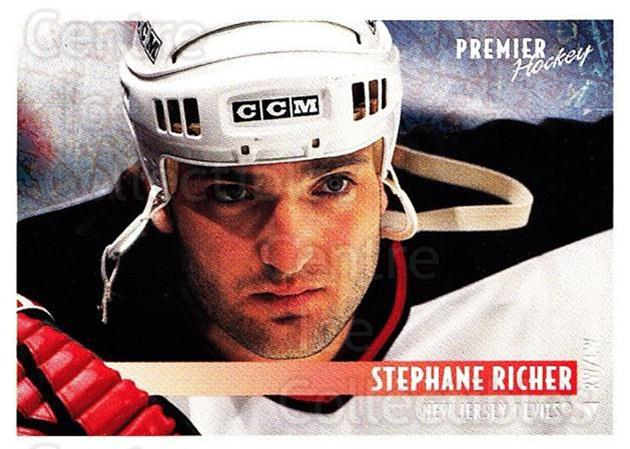 1994-95 OPC Premier Special FX #105 Stephane Richer<br/>7 In Stock - $2.00 each - <a href=https://centericecollectibles.foxycart.com/cart?name=1994-95%20OPC%20Premier%20Special%20FX%20%23105%20Stephane%20Richer...&quantity_max=7&price=$2.00&code=249283 class=foxycart> Buy it now! </a>