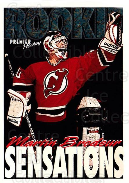 1994-95 OPC Premier Special FX #190 Martin Brodeur<br/>1 In Stock - $10.00 each - <a href=https://centericecollectibles.foxycart.com/cart?name=1994-95%20OPC%20Premier%20Special%20FX%20%23190%20Martin%20Brodeur...&price=$10.00&code=249368 class=foxycart> Buy it now! </a>