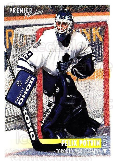 1994-95 OPC Premier Special FX #355 Felix Potvin<br/>2 In Stock - $2.00 each - <a href=https://centericecollectibles.foxycart.com/cart?name=1994-95%20OPC%20Premier%20Special%20FX%20%23355%20Felix%20Potvin...&quantity_max=2&price=$2.00&code=249533 class=foxycart> Buy it now! </a>