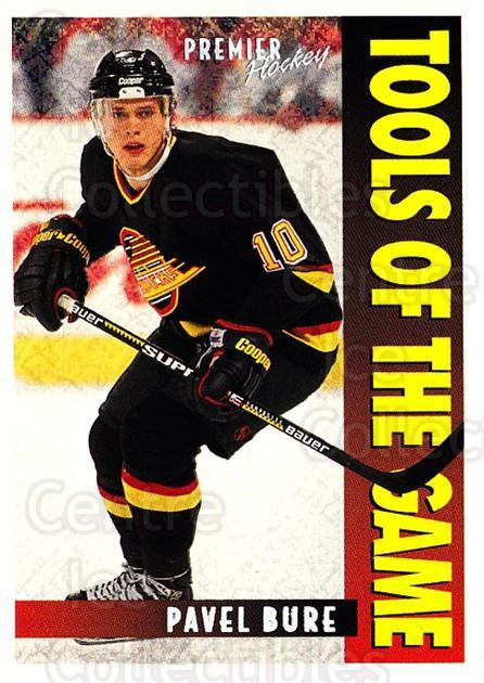 1994-95 OPC Premier Special FX #415 Pavel Bure<br/>1 In Stock - $3.00 each - <a href=https://centericecollectibles.foxycart.com/cart?name=1994-95%20OPC%20Premier%20Special%20FX%20%23415%20Pavel%20Bure...&quantity_max=1&price=$3.00&code=249593 class=foxycart> Buy it now! </a>