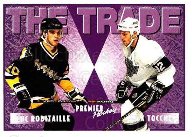 1994-95 Topps Premier Special FX #346 Rick Tocchet, Luc Robitaille<br/>1 In Stock - $2.00 each - <a href=https://centericecollectibles.foxycart.com/cart?name=1994-95%20Topps%20Premier%20Special%20FX%20%23346%20Rick%20Tocchet,%20L...&quantity_max=1&price=$2.00&code=250074 class=foxycart> Buy it now! </a>
