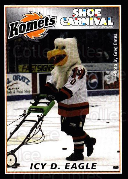 2002-03 Fort Wayne Komets Shoe Carnival #4 Mascot<br/>2 In Stock - $3.00 each - <a href=https://centericecollectibles.foxycart.com/cart?name=2002-03%20Fort%20Wayne%20Komets%20Shoe%20Carnival%20%234%20Mascot...&quantity_max=2&price=$3.00&code=250342 class=foxycart> Buy it now! </a>