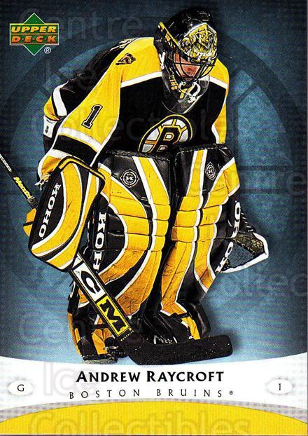 2005-06 Boston Bruins The Boston Globe #3 Andrew Raycroft<br/>4 In Stock - $3.00 each - <a href=https://centericecollectibles.foxycart.com/cart?name=2005-06%20Boston%20Bruins%20The%20Boston%20Globe%20%233%20Andrew%20Raycroft...&quantity_max=4&price=$3.00&code=250405 class=foxycart> Buy it now! </a>
