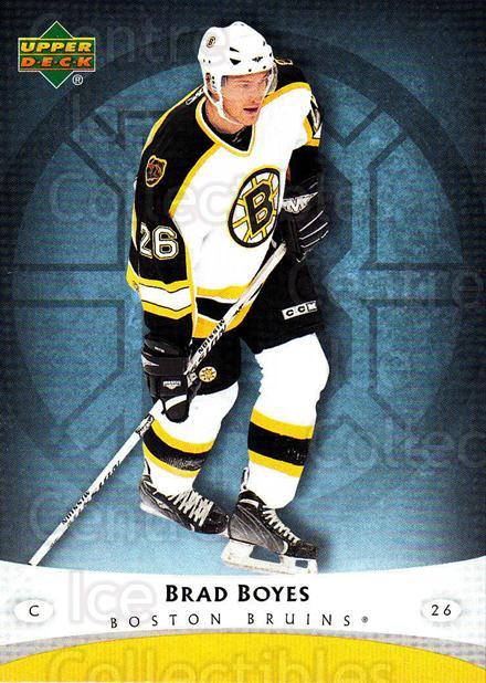 2005-06 Boston Bruins The Boston Globe #15 Brad Boyes<br/>8 In Stock - $3.00 each - <a href=https://centericecollectibles.foxycart.com/cart?name=2005-06%20Boston%20Bruins%20The%20Boston%20Globe%20%2315%20Brad%20Boyes...&quantity_max=8&price=$3.00&code=250417 class=foxycart> Buy it now! </a>