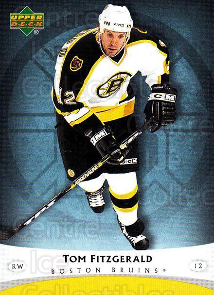 2005-06 Boston Bruins The Boston Globe #17 Tom Fitzgerald<br/>8 In Stock - $3.00 each - <a href=https://centericecollectibles.foxycart.com/cart?name=2005-06%20Boston%20Bruins%20The%20Boston%20Globe%20%2317%20Tom%20Fitzgerald...&quantity_max=8&price=$3.00&code=250419 class=foxycart> Buy it now! </a>