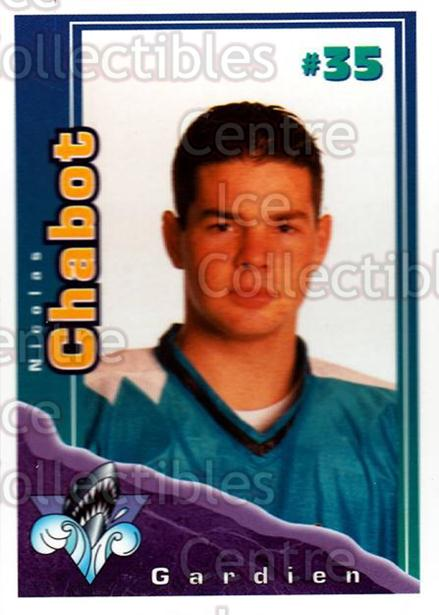 1996-97 Rimouski Oceanic Police #7 Nicolas Chabot<br/>1 In Stock - $3.00 each - <a href=https://centericecollectibles.foxycart.com/cart?name=1996-97%20Rimouski%20Oceanic%20Police%20%237%20Nicolas%20Chabot...&quantity_max=1&price=$3.00&code=250439 class=foxycart> Buy it now! </a>