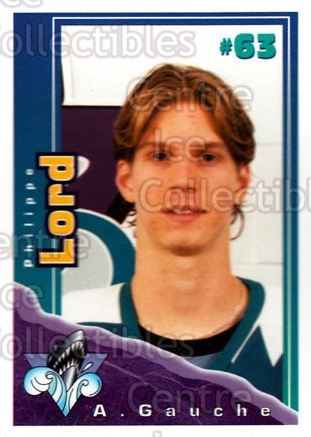 1996-97 Rimouski Oceanic Police #16 Philippe Lord<br/>2 In Stock - $3.00 each - <a href=https://centericecollectibles.foxycart.com/cart?name=1996-97%20Rimouski%20Oceanic%20Police%20%2316%20Philippe%20Lord...&quantity_max=2&price=$3.00&code=250448 class=foxycart> Buy it now! </a>