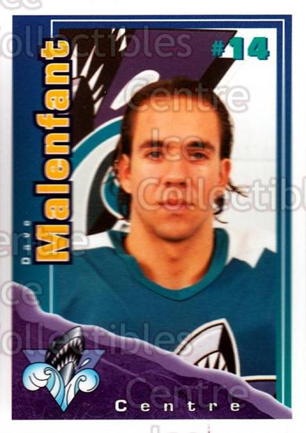 1996-97 Rimouski Oceanic Police #17 Dave Malenfant<br/>2 In Stock - $3.00 each - <a href=https://centericecollectibles.foxycart.com/cart?name=1996-97%20Rimouski%20Oceanic%20Police%20%2317%20Dave%20Malenfant...&quantity_max=2&price=$3.00&code=250449 class=foxycart> Buy it now! </a>