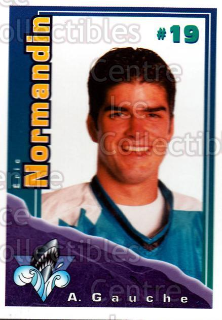 1996-97 Rimouski Oceanic Police #18 Eric Normandin<br/>2 In Stock - $3.00 each - <a href=https://centericecollectibles.foxycart.com/cart?name=1996-97%20Rimouski%20Oceanic%20Police%20%2318%20Eric%20Normandin...&quantity_max=2&price=$3.00&code=250450 class=foxycart> Buy it now! </a>