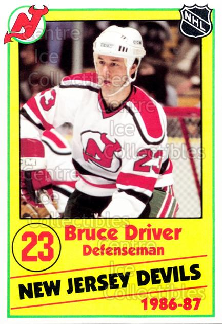 1986-87 New Jersey Devils Police #10 Bruce Driver<br/>6 In Stock - $3.00 each - <a href=https://centericecollectibles.foxycart.com/cart?name=1986-87%20New%20Jersey%20Devils%20Police%20%2310%20Bruce%20Driver...&quantity_max=6&price=$3.00&code=25049 class=foxycart> Buy it now! </a>